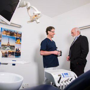 Antischnarch-Therapie mit Laser